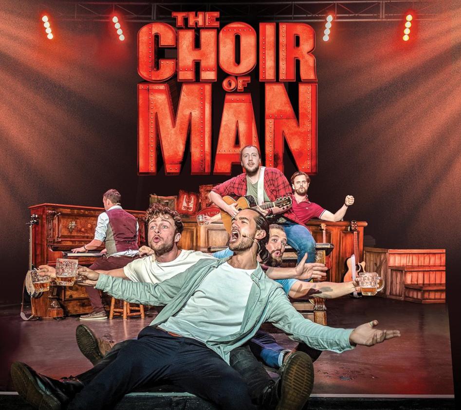 Tom Gadie joins Australian Tour of The Choir of Man
