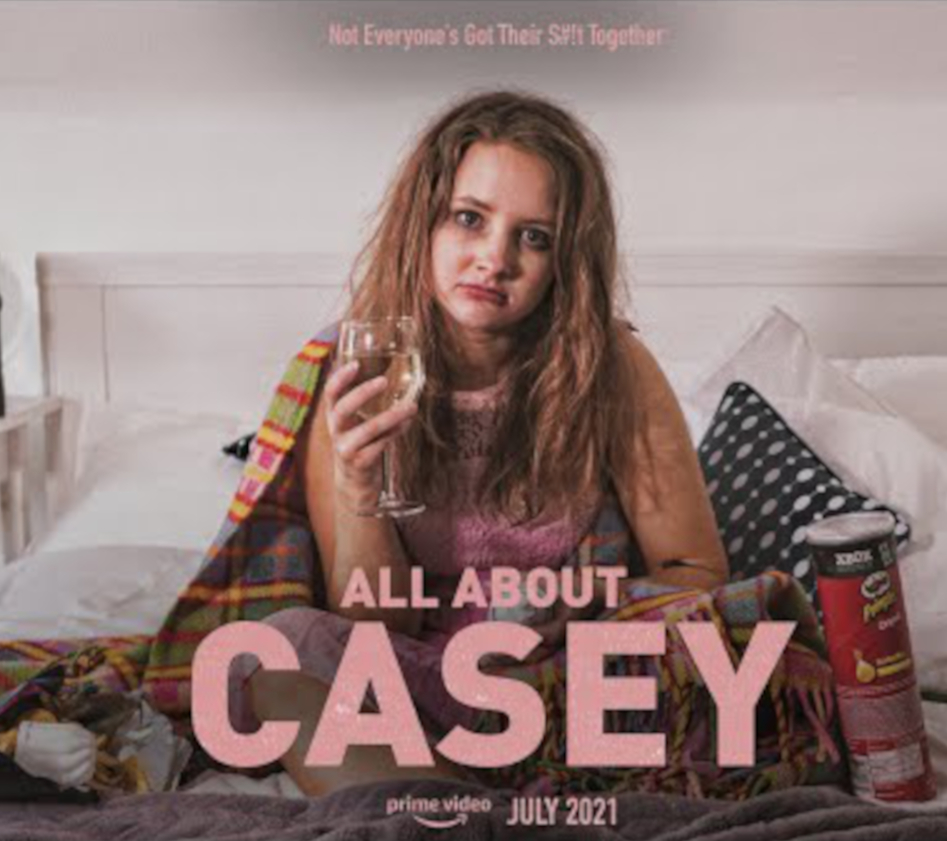 Kayleigh-Paige Rees writes and stars in 'All about Casey'.