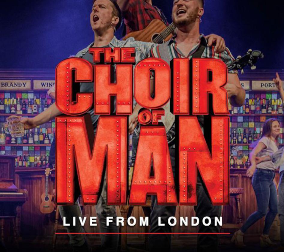 Georgie Kingsley James joins 'The Choir of Man'
